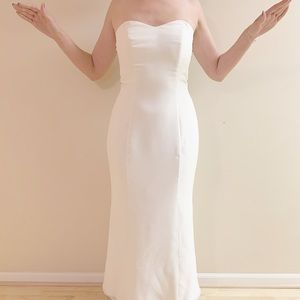 Vintage Bridal Ivory Dress Mermaid Size 2 XS